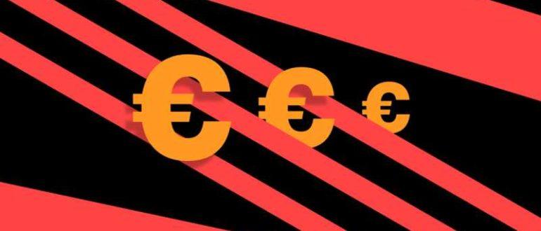 Курс евро упал ниже 89 рублей впервые с 18 сентября